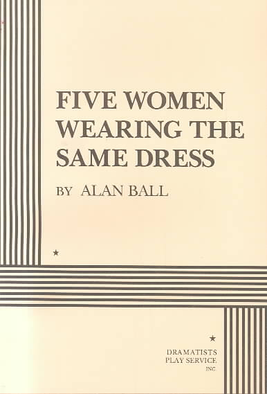 Five Women Wearing the Same Dress By Ball, Alan